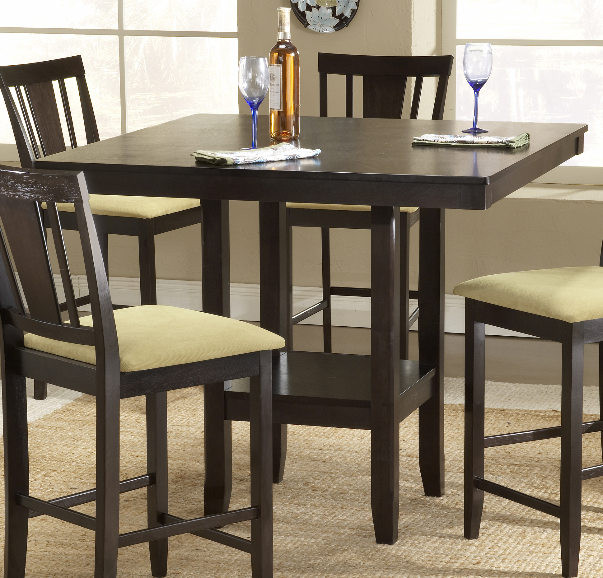 Counter height dinette sets homesfeed Counter height dining table