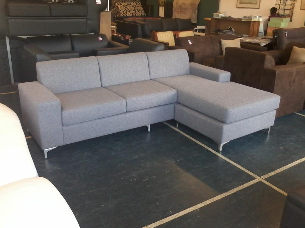 custom made l shaped couches with grey color
