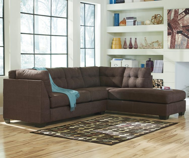 2 piece sectional sofa with chaise design homesfeed for 2 piece sectional with chaise lounge