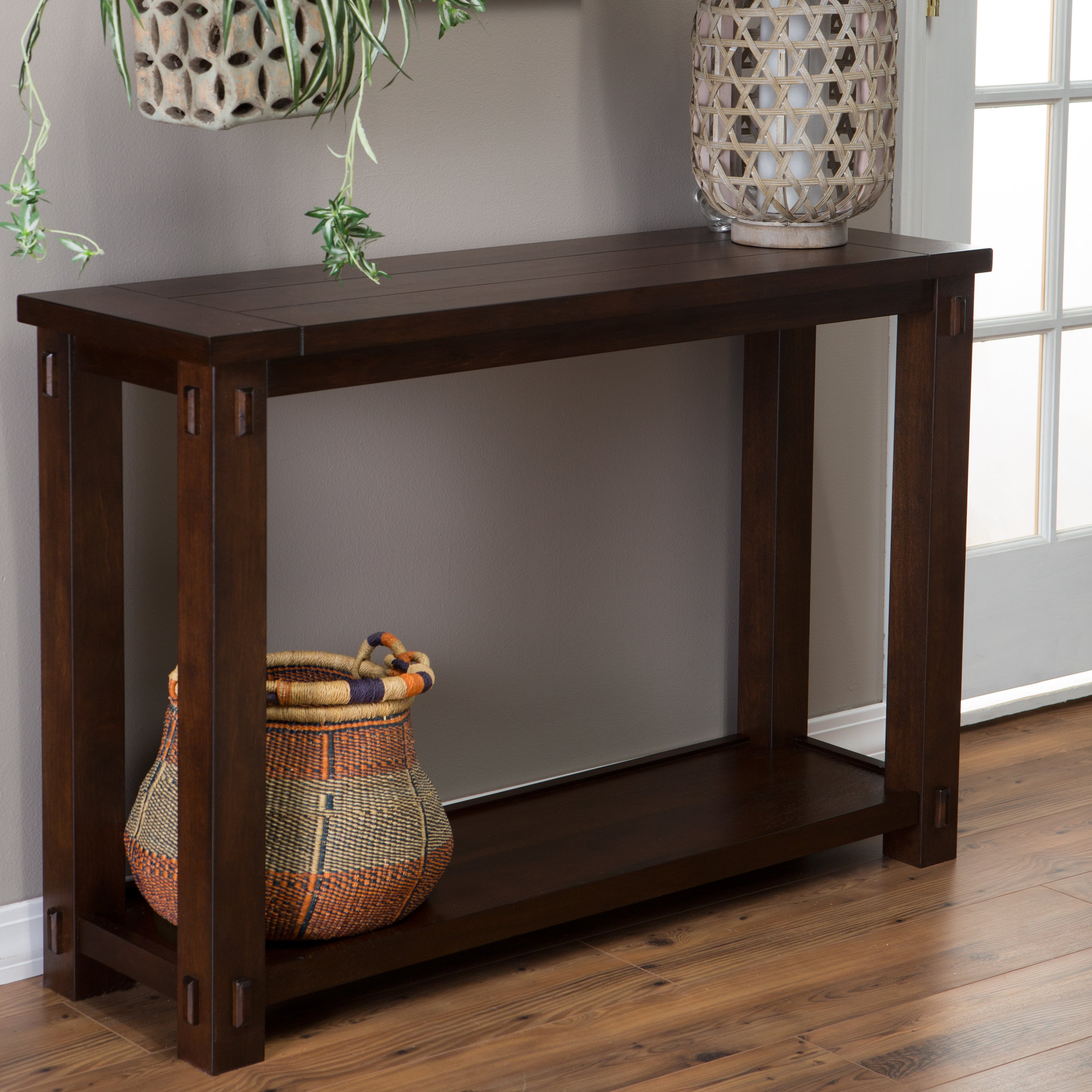 Tall Console Tables Homesfeed
