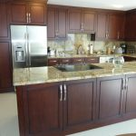 Dark Wooden Kitchen Cabinets Ideas