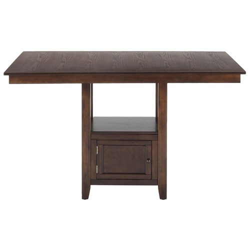 Add stylish rectangular pub table for residential or commercial homesfeed - Rectangular pedestal kitchen table ...