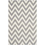 Decorative Bath Chevron Runner Rug