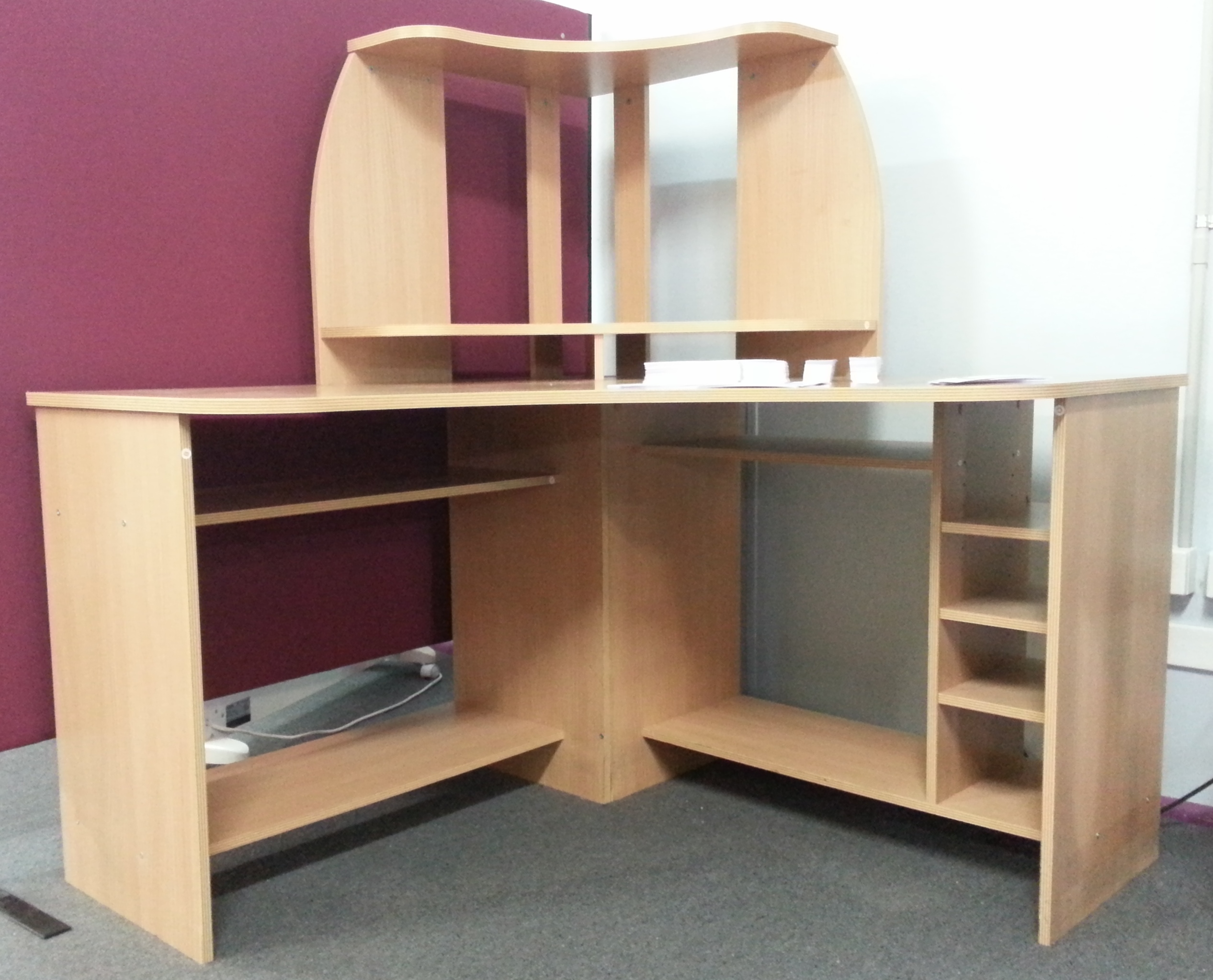 desk shelf cheap the college cube dorm desk bookshelf. Black Bedroom Furniture Sets. Home Design Ideas