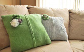 Decorative Sofa With Pillows Design Ideas