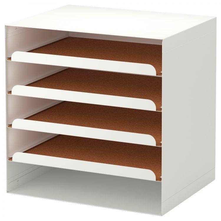 Ikea desk organizer homesfeed for Ikea desk with shelf