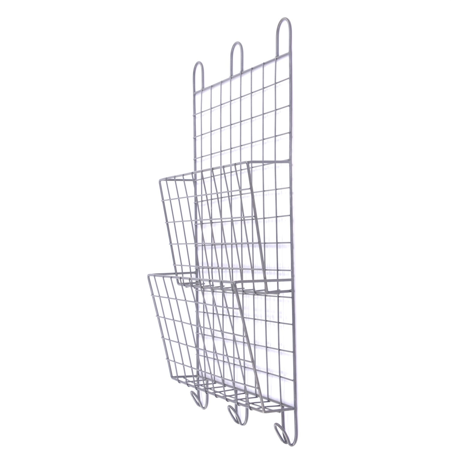 wall mount wire basket cool design