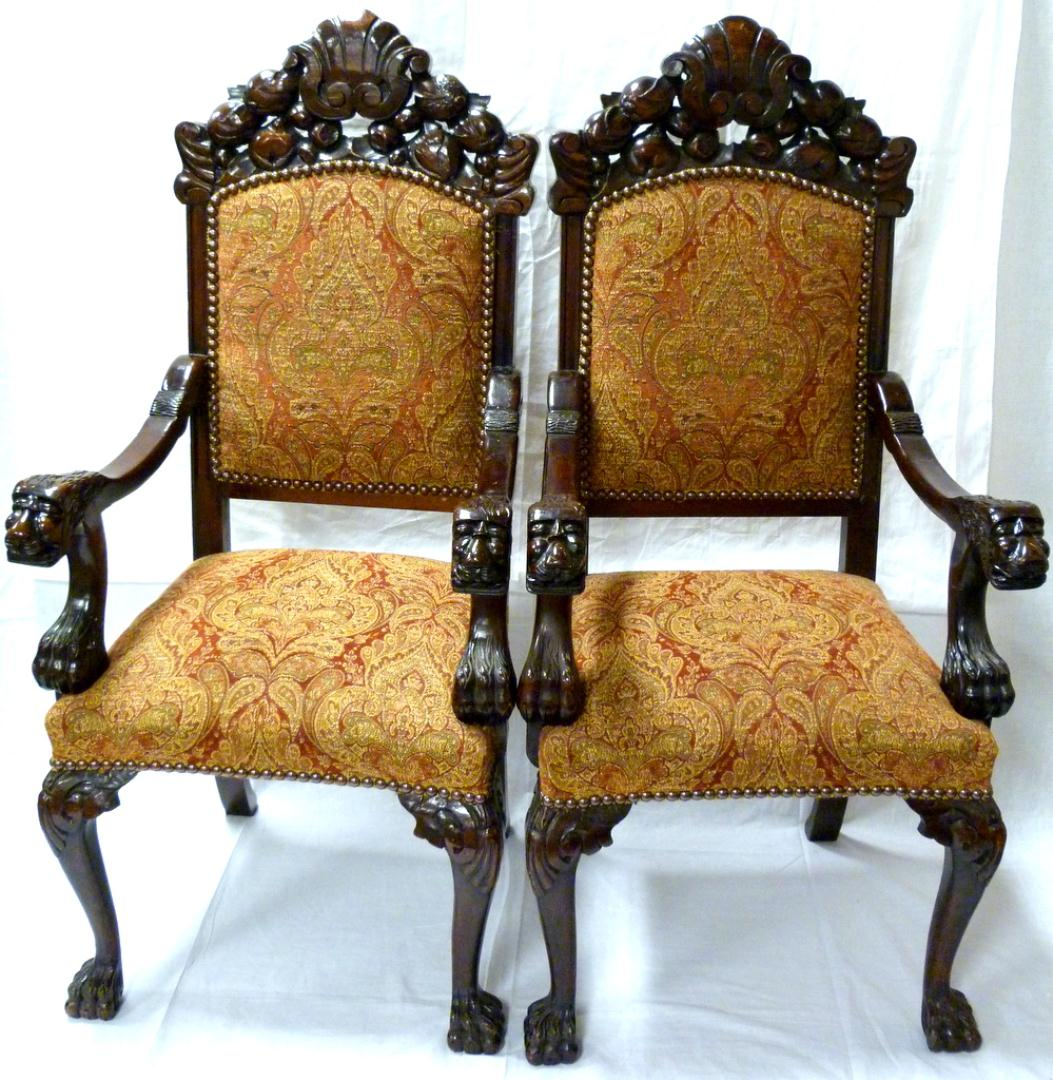Double Stylish Wooden Chairs With Arms - Wooden Chairs With Arms HomesFeed