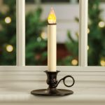 Electric Candle Lights For Windows With Classic Base Style