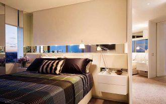 Elegant Bedroom Of Modern Apartment Interior