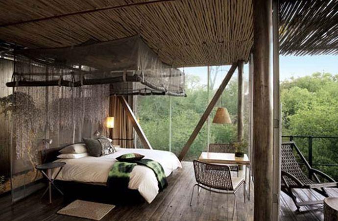 safari bedroom decor ideas homesfeed. Black Bedroom Furniture Sets. Home Design Ideas