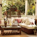 Exterior Design Of Balcony With Cool Small Balcony Furniture