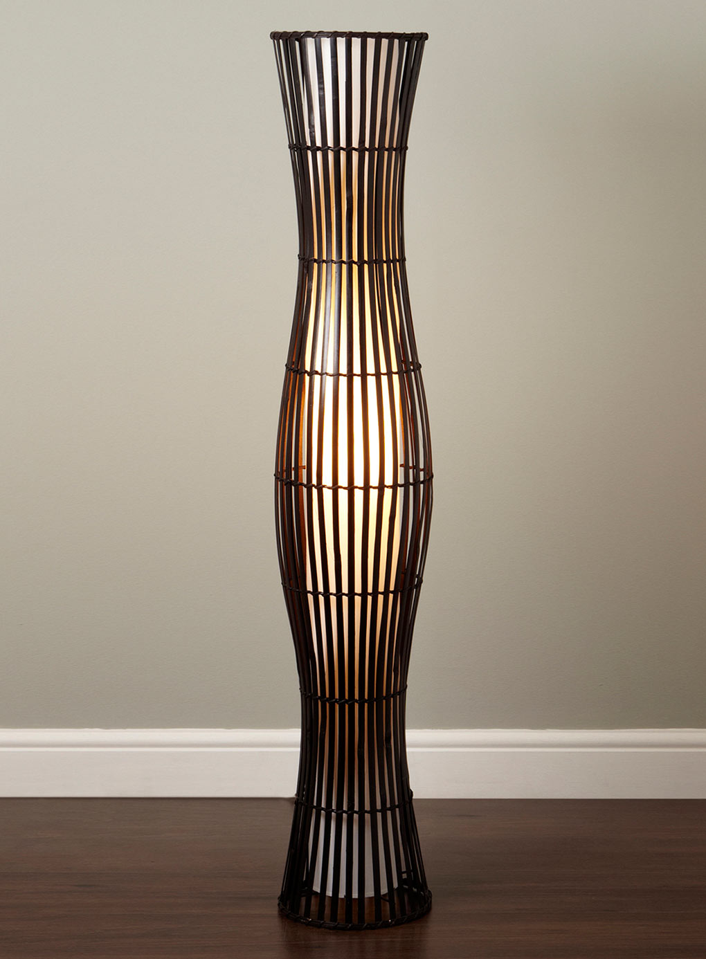 Wicker table lamps concept homesfeed floor standing wicker table lamps aloadofball Images