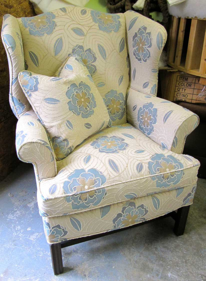 Upholstered Wingback Chairs – HomesFeed