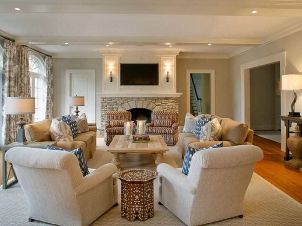 formal white living room furniture arrangement