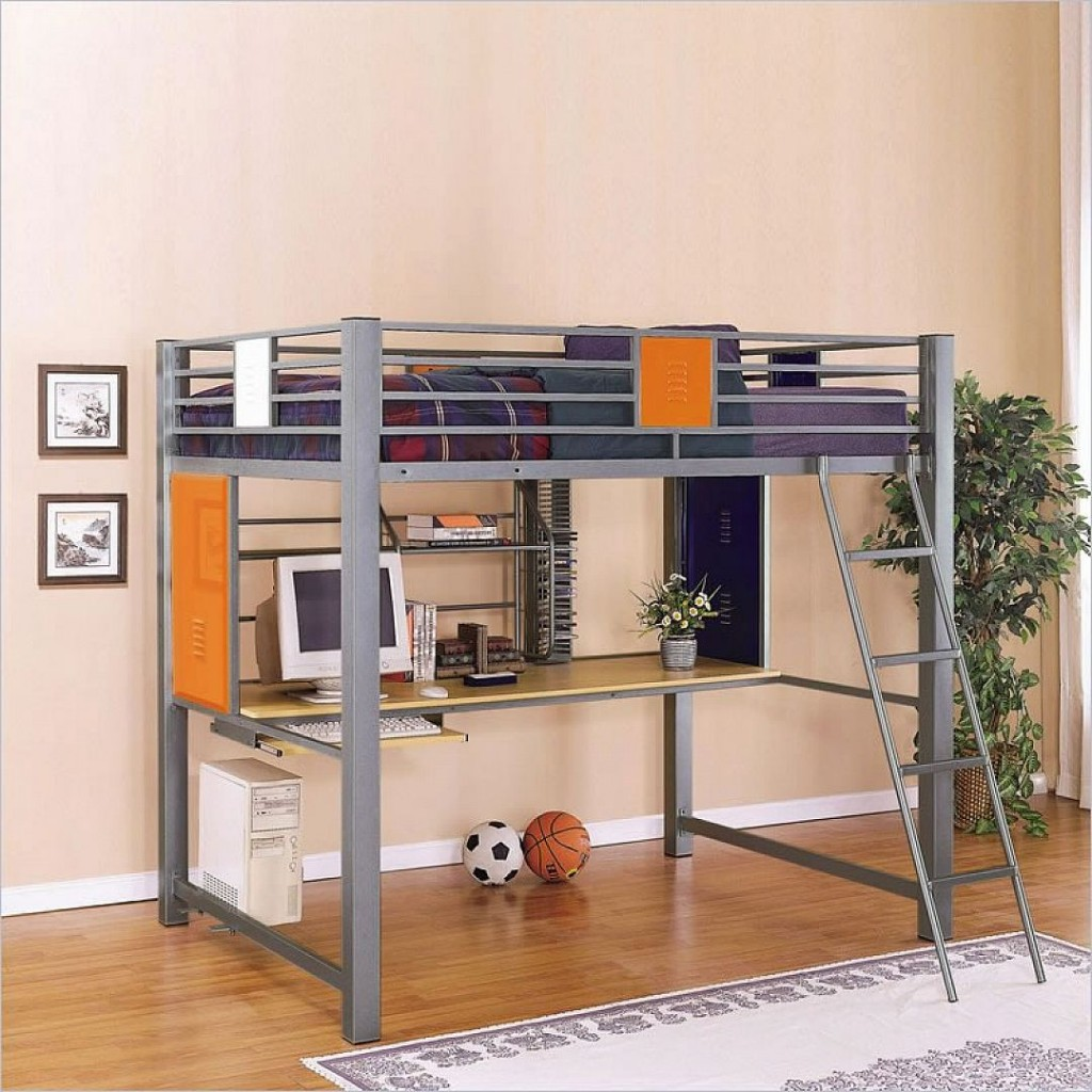 Ikea full loft bed ideas homesfeed for Full size bed ikea