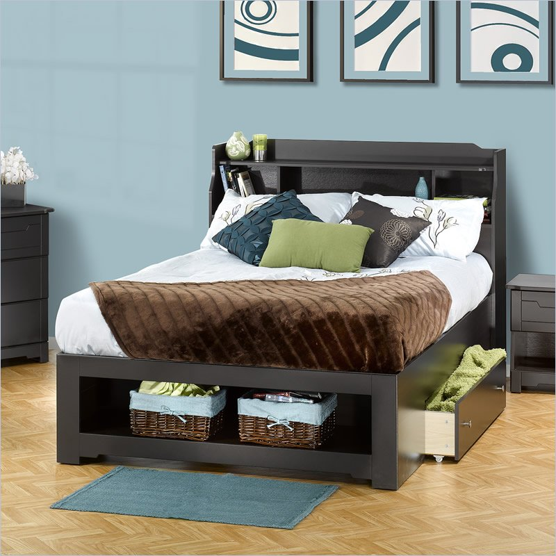 Full Bed Frame With Storage A Smart Solution For Extra Storage
