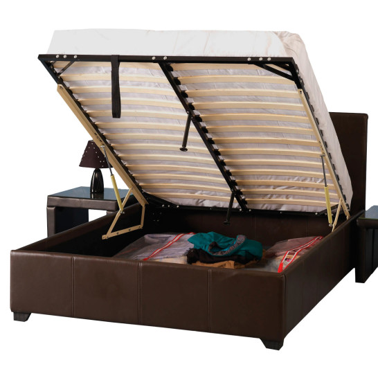 full bed frame with under storage - Bed Frames With Storage Full