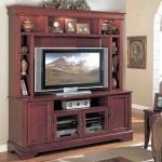 Furniture Of Cherry Wooden Entertaining For Tv And Home Interior Design And Decor