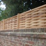 Garden Wall Fence Panels With Modern Idea