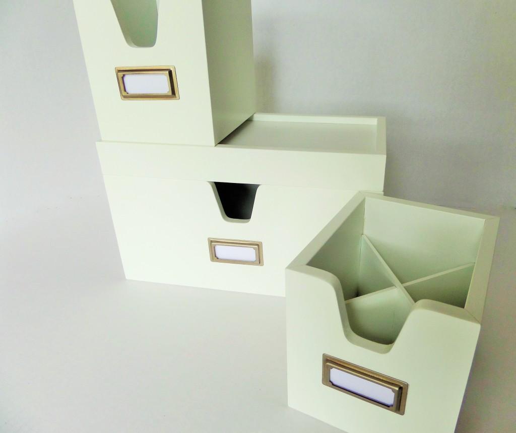 green desk organizer ikea