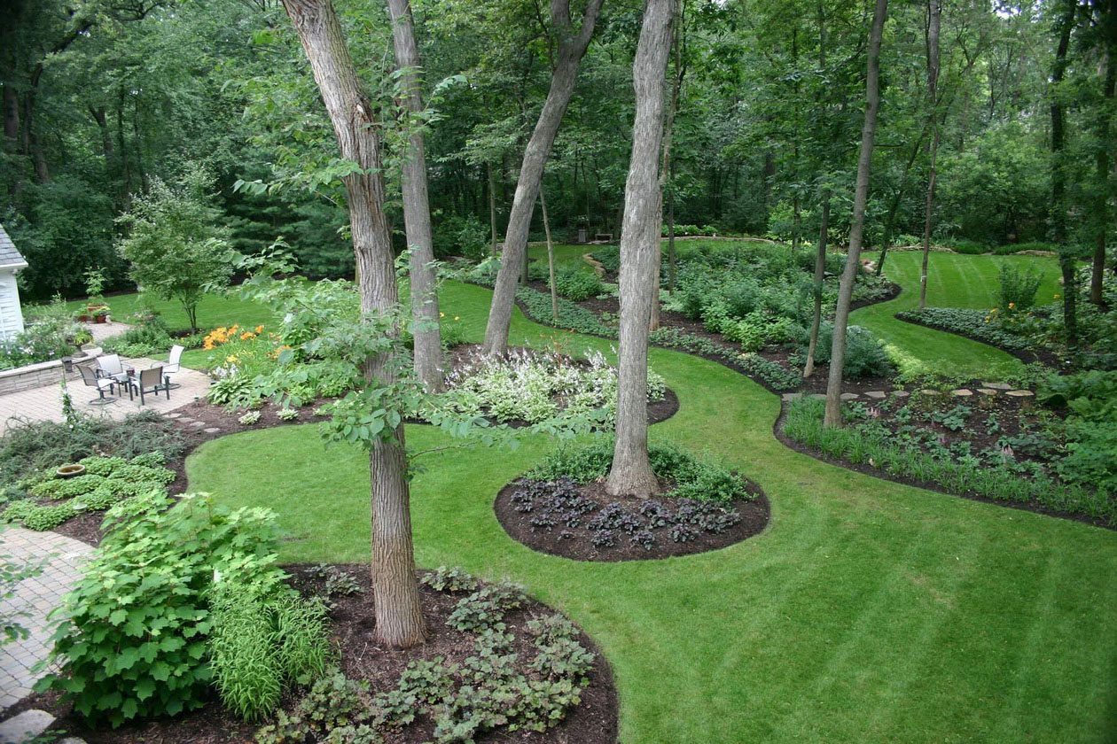 green natural backyard garden design ideas - Backyard Garden Design Ideas