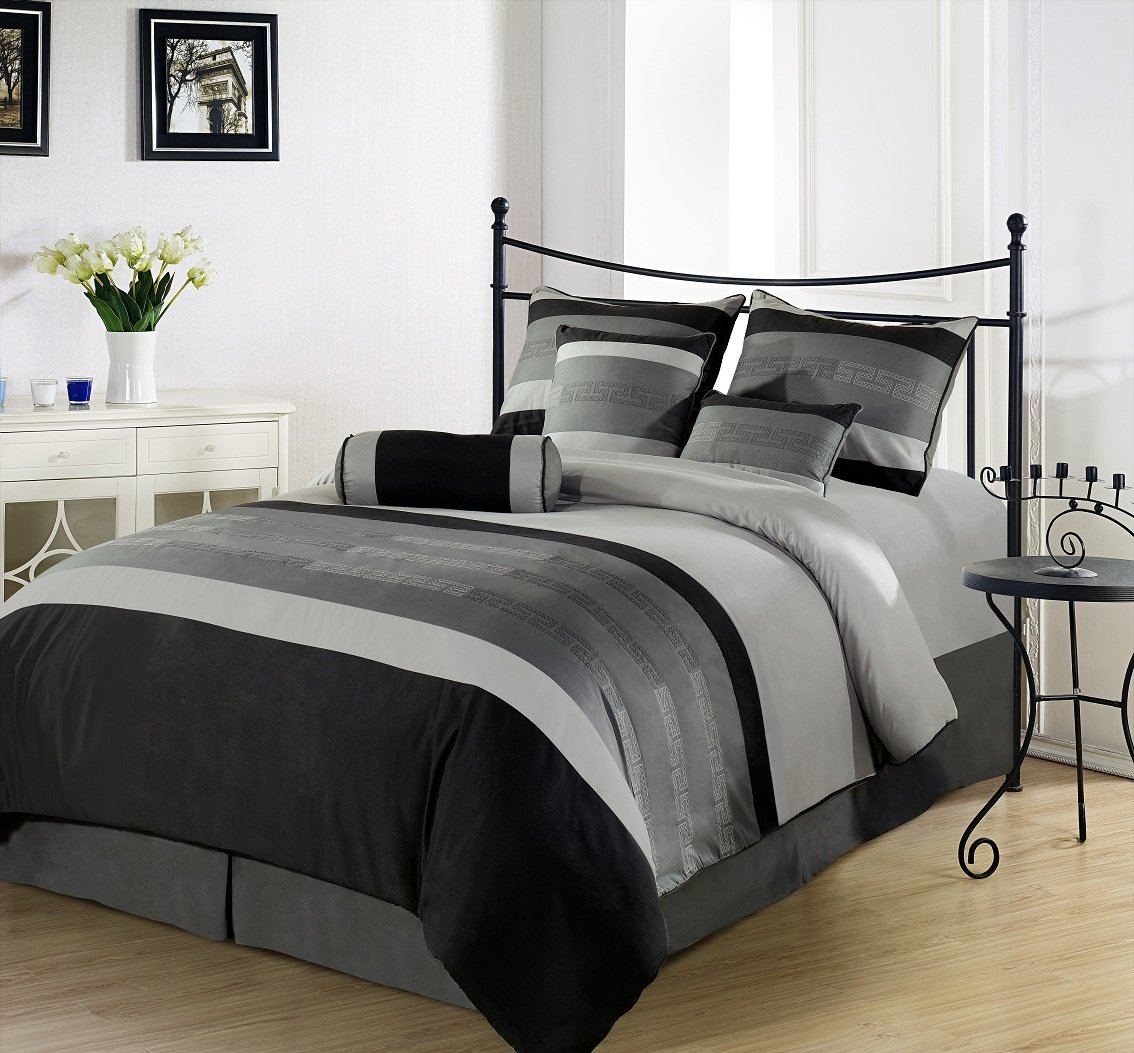 Gray is the perfect neutral and a solid foundation for your bedding color. Because gray is the new black, you can build upon it with most any color scheme. The various shades of this color offer a wide range of statements and moods, so there's fun to be had experimenting with your duvet and sheet sets.