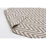 Grey Chevron Runner Rug