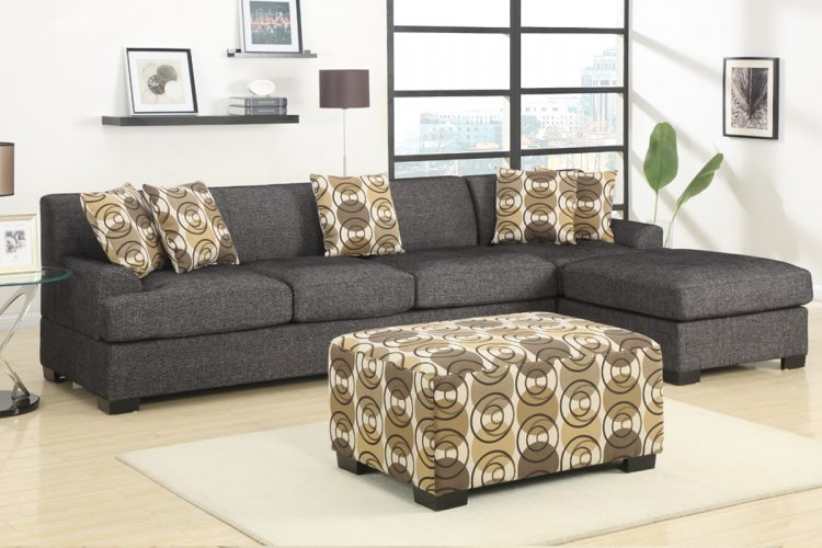 2 piece sectional sofa with chaise design homesfeed for 750 sofa chaise