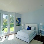 Guest Bedroom With White Best Color Wall Paint