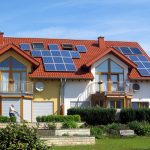 Home With Solar Panels For Home Energy
