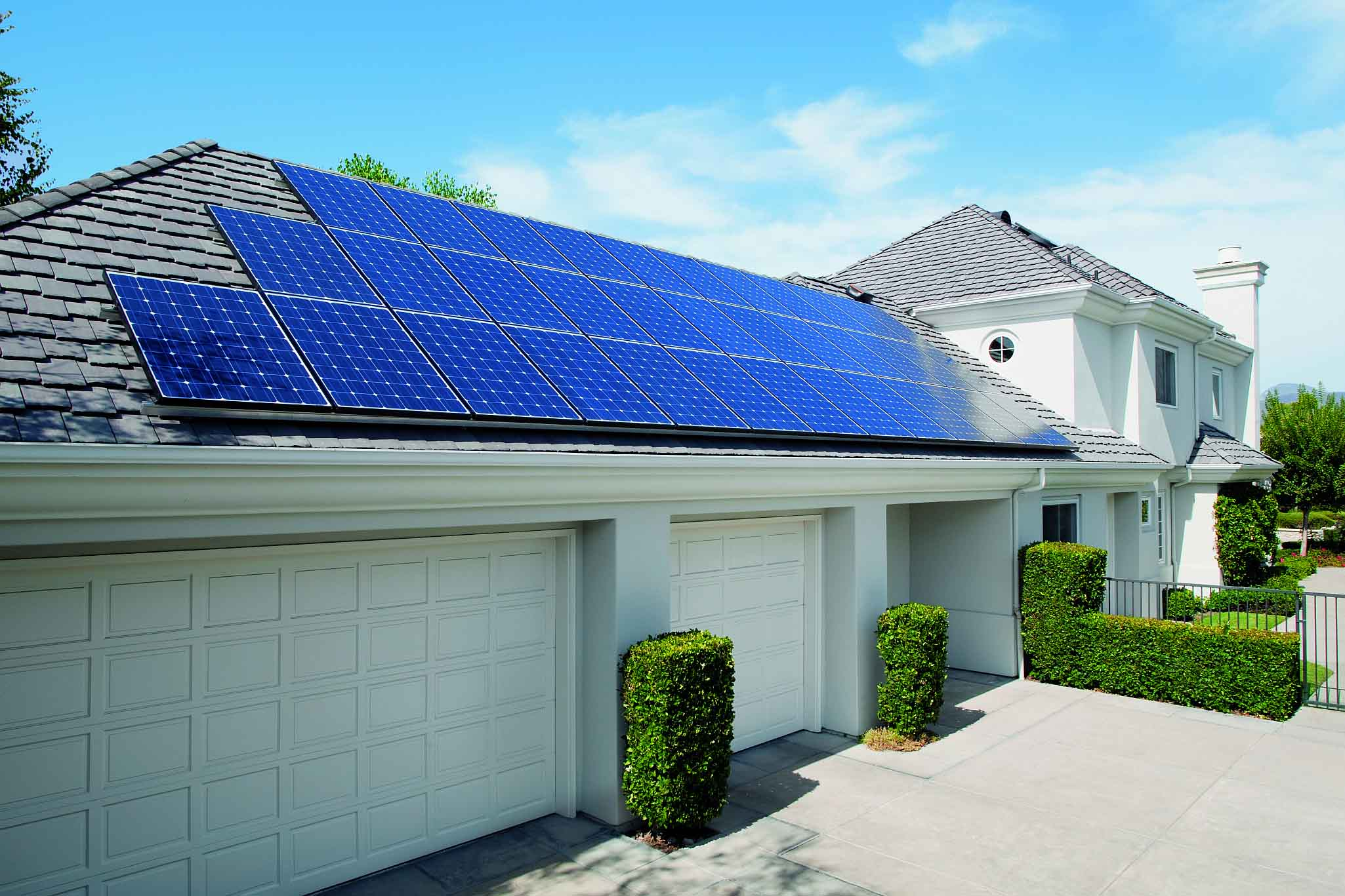 Home With Solar Panels Homesfeed
