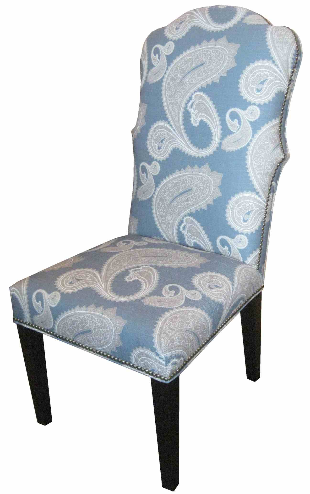 Armchair Blue Upholstered Dining Chairs - ddns.pexcel.info
