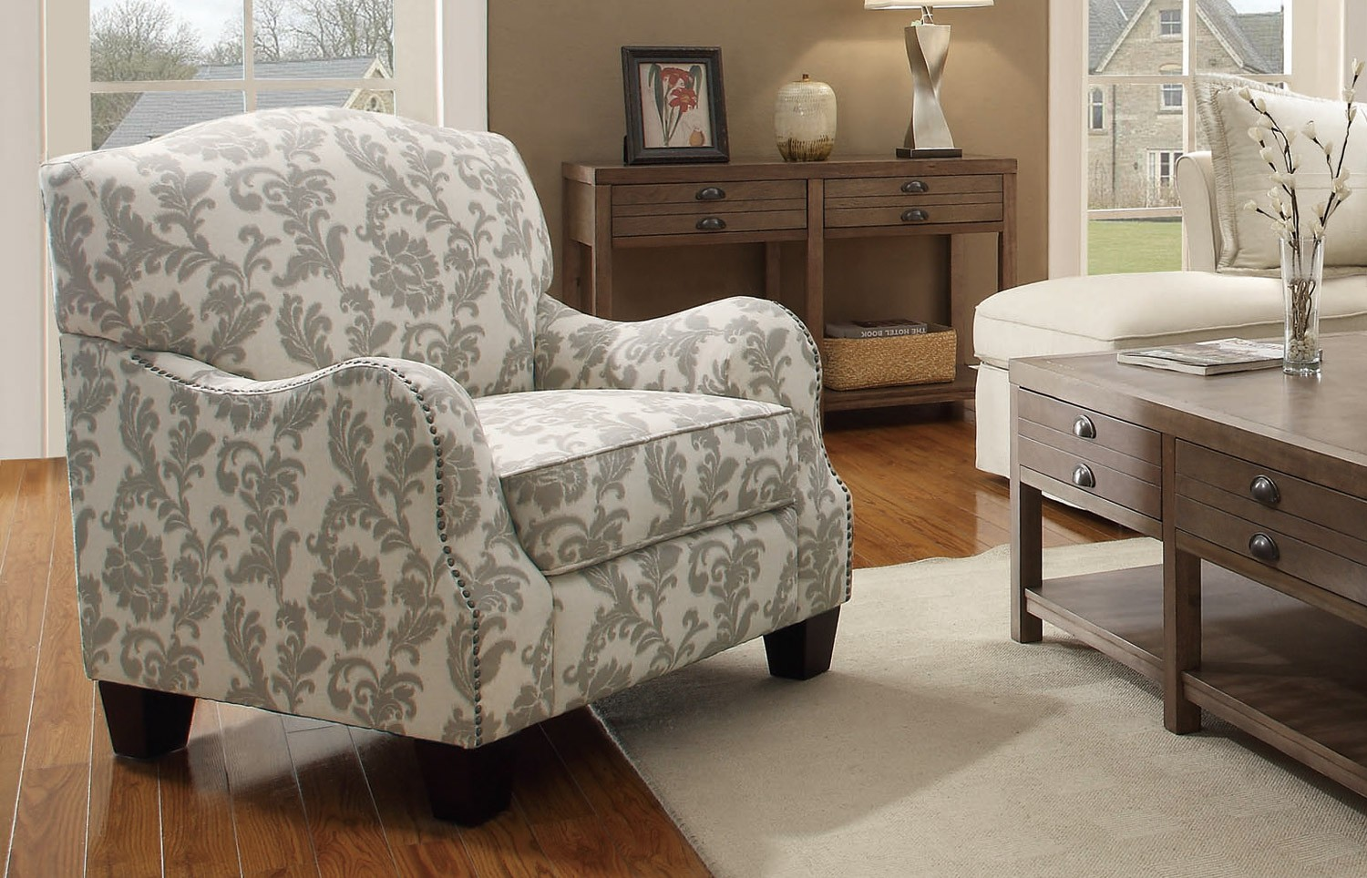 Comfortable accent chairs you want to see homesfeed - Cheap comfortable living room chairs ...
