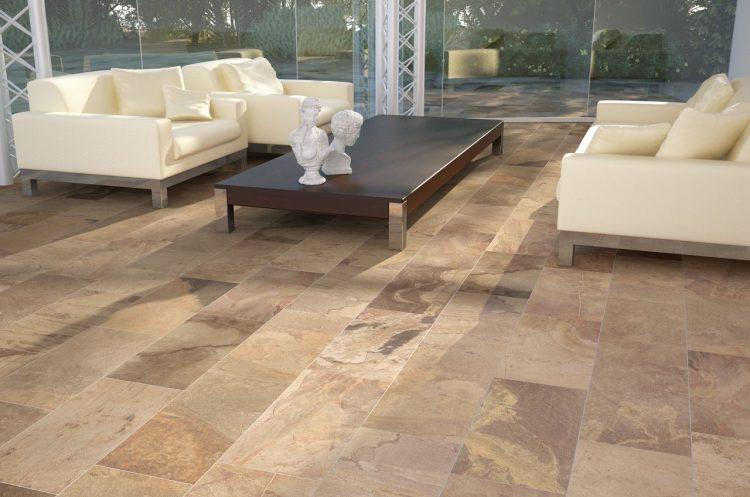 Rectangular floor tile design homesfeed for Living room ideas rectangular