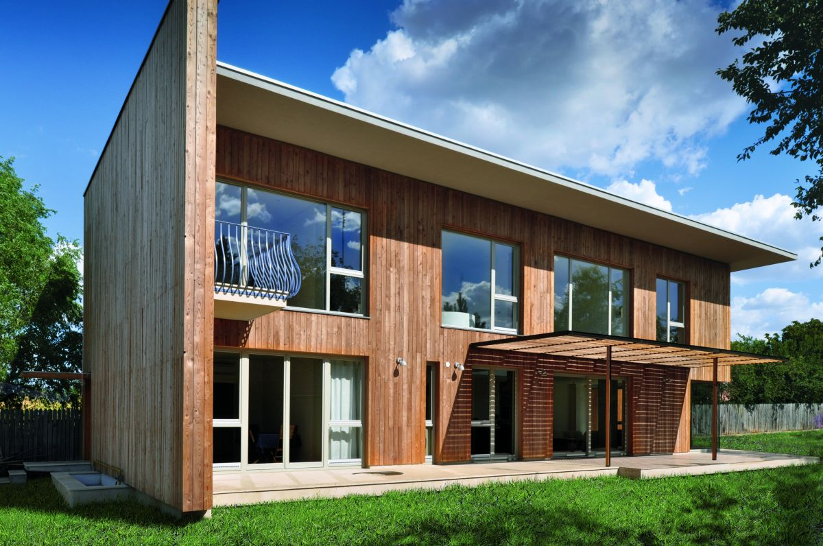 Wooden house designs homesfeed for Modern wooden house design