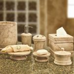 Marble Bath Accessories Sets