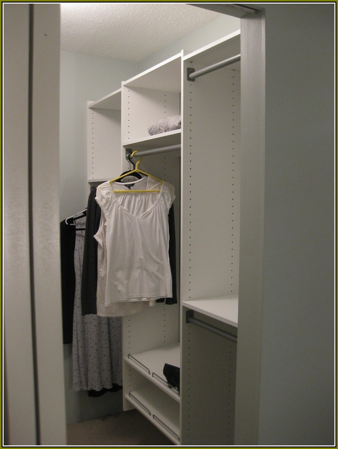 Martha Stewart Closet Organizer In White Paint