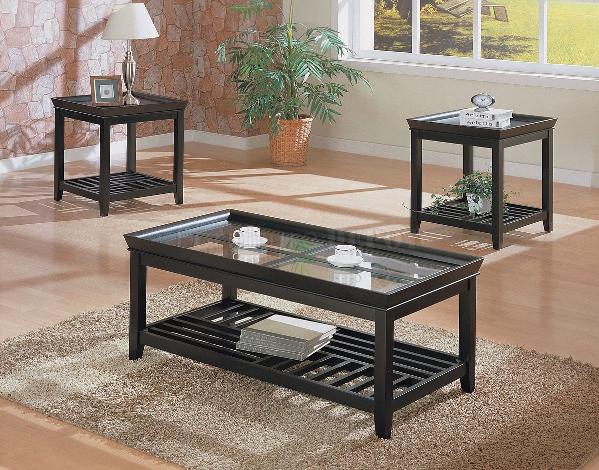 cocktail table sets design homesfeed. Black Bedroom Furniture Sets. Home Design Ideas