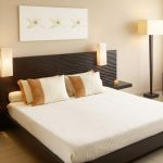 Modern Color Ideas Of Interior Color 2014 With White Bed Lamp Chair And Frame