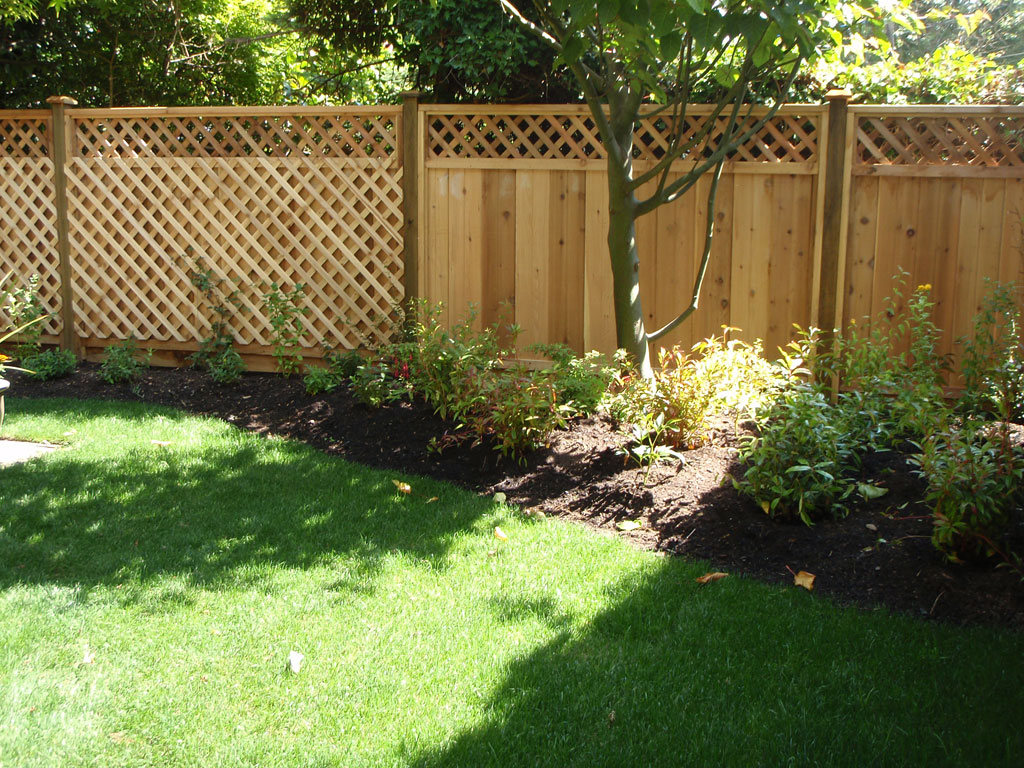 Garden By Design garden by design decorate ideas cool on garden by design interior design trends Oak Garden Fencing Ideas Near Green Grass And Lush Trees