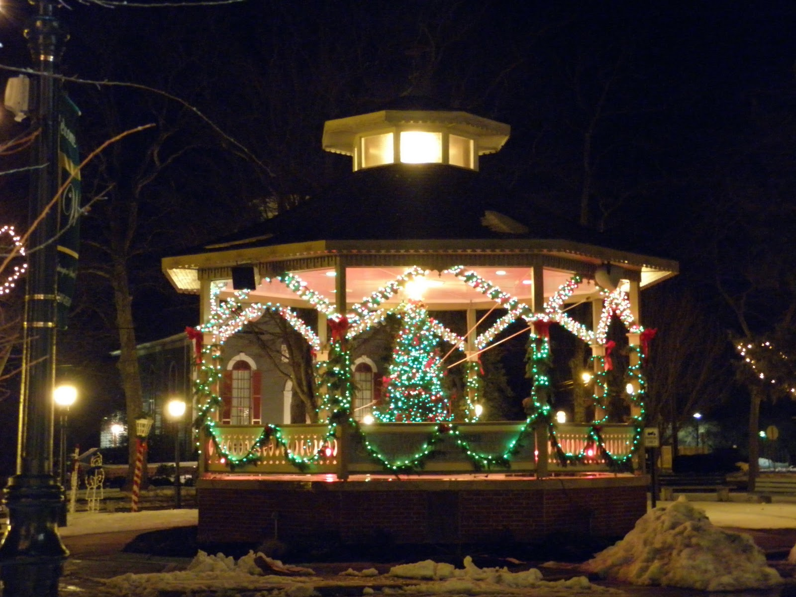 gallery of outdoor gazebo area with wonderful lighting with easy christmas light ideas outdoor