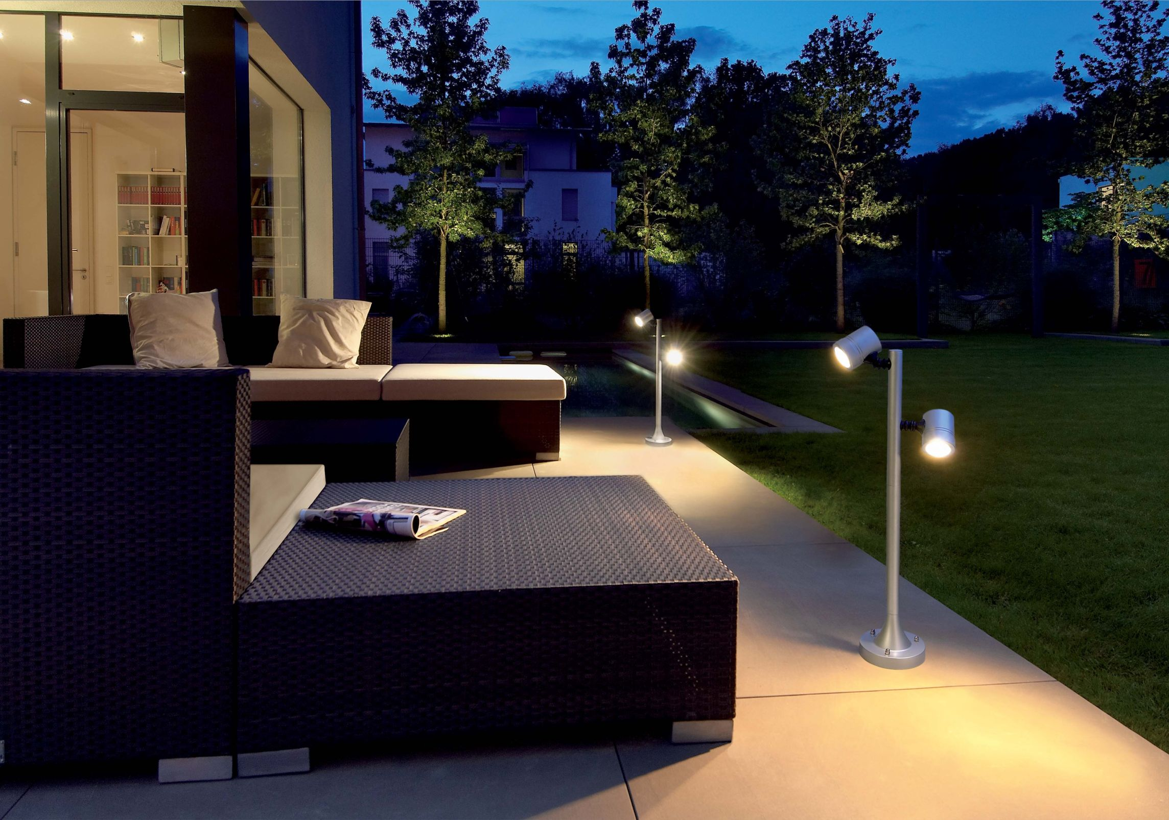 Outdoor gazebo lighting ideas homesfeed for Exterior light design