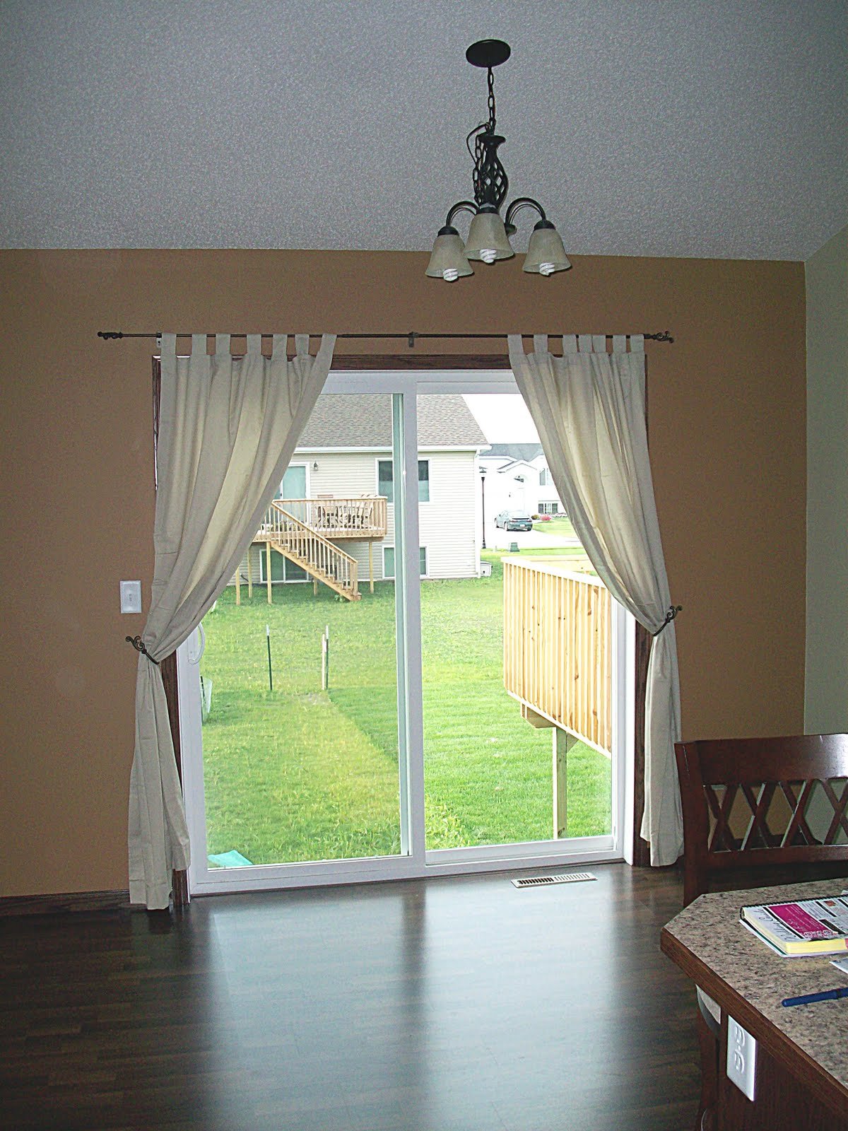 Patio Door Curtain Ideas Homesfeed