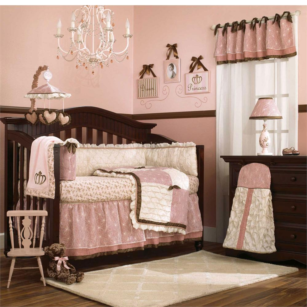 Pink Bedroom Ideas That Can Be Pretty And Peaceful Or: Bedding Sets For Cribs Ideas