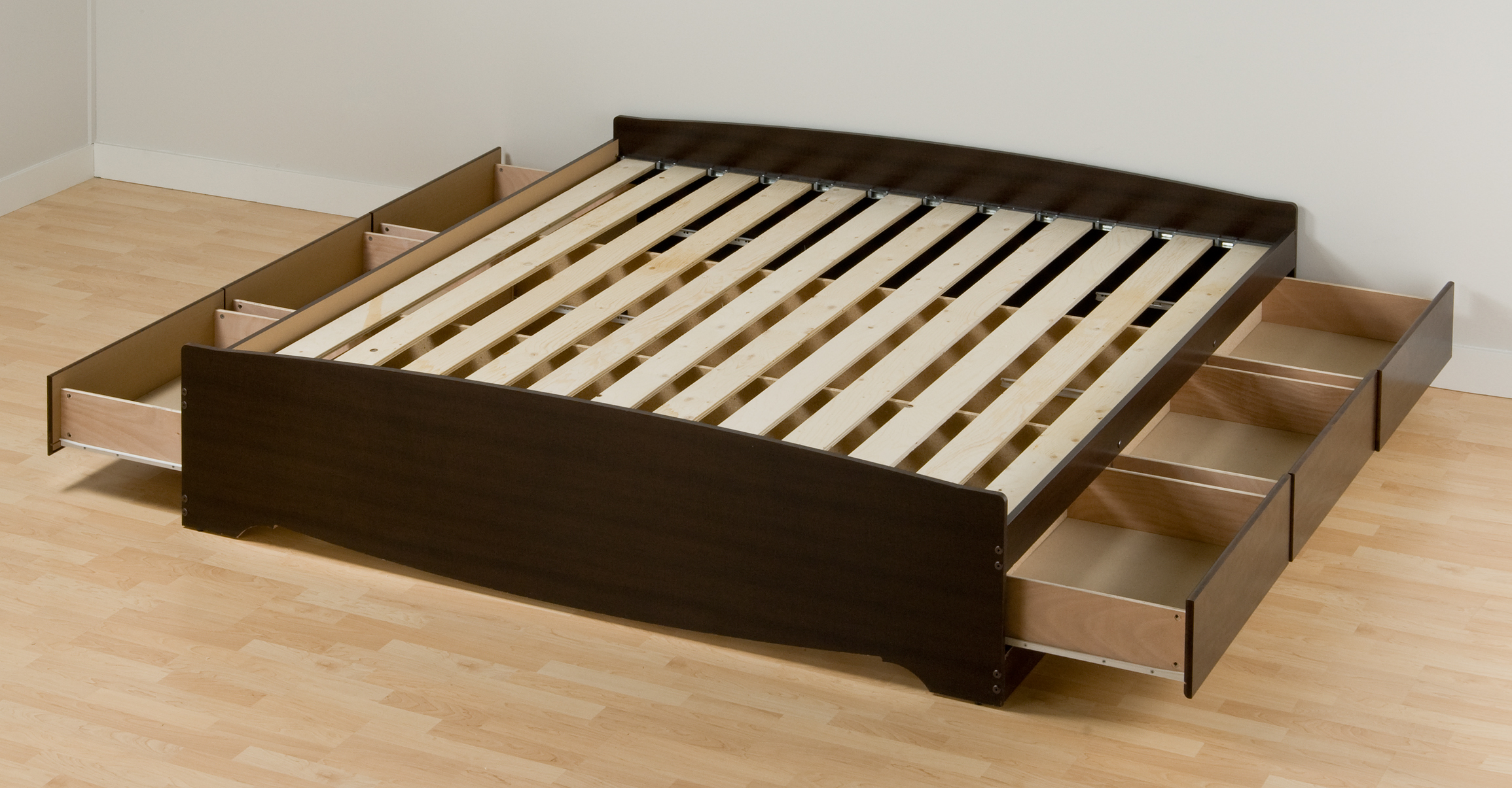 essential upholstered - King Bed Frame Platform