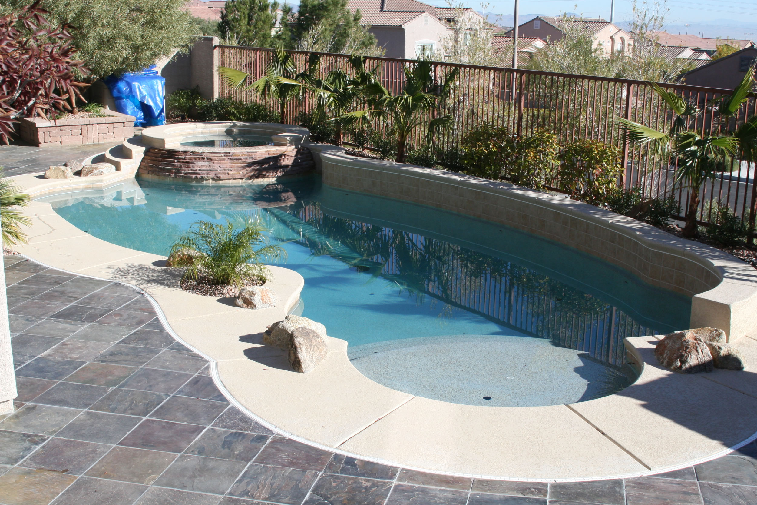 Simple Pool Designs swimming pool design with limited space Pool Design For Small Yards With Simple Architecture