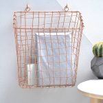 Pretty Wall Mount Wire Basket