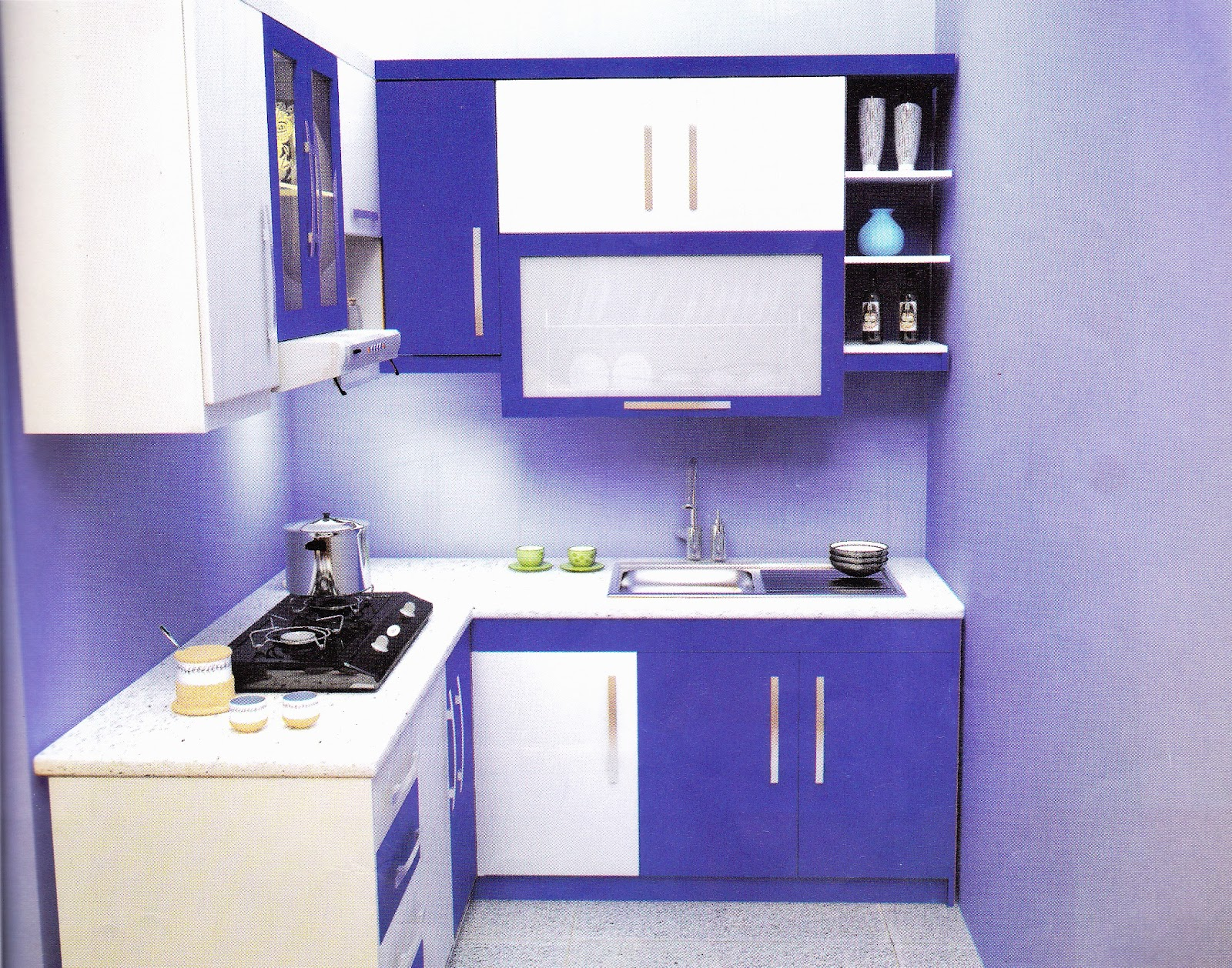 Apartment kitchen set homesfeed for Kitchen set 2015
