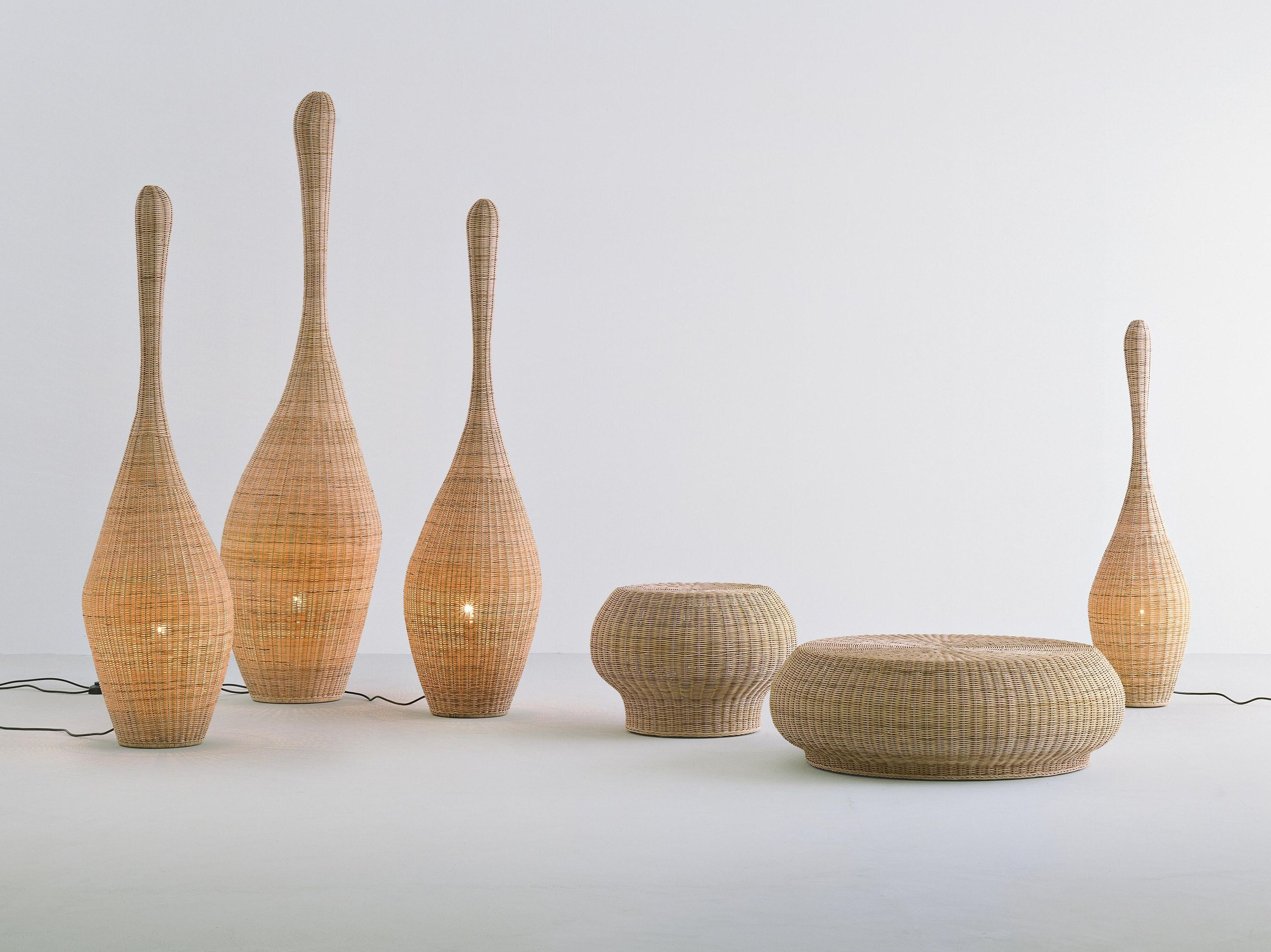 Wicker table lamps concept homesfeed random size and shape of wicker table lamps aloadofball Images